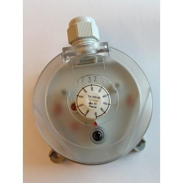 Presostat powietrza, czujnik ciśnienia  0,5-5mbar
