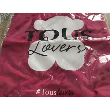 Tous torba bawełniana z logo