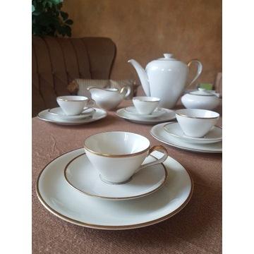 Porcelanowy serwis do herbaty kpm krister germany