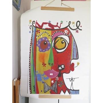 Obraz Maria Moretti canvas Abstrakcja Picasso