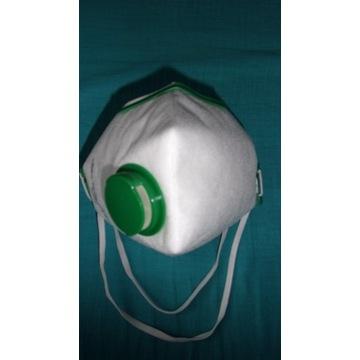 Maski ochronne przemysłowe FFP2 (duża ilość)