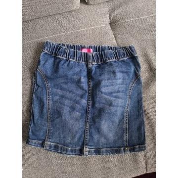 Spódniczka jeans jeansowa 140