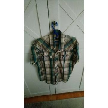 Koszula wrangler 4szt roz. M/w jednej cenie/