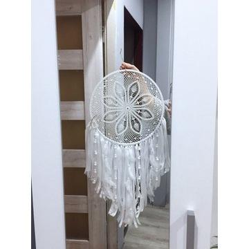 Łapacz snów biały 42 cm