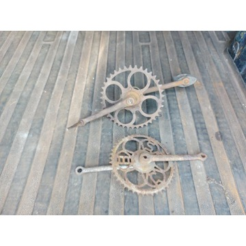 Zębatki starych rowerów