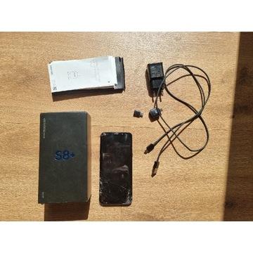 Samsung Galaxy S8 Plus - uszkodzony - sprawny