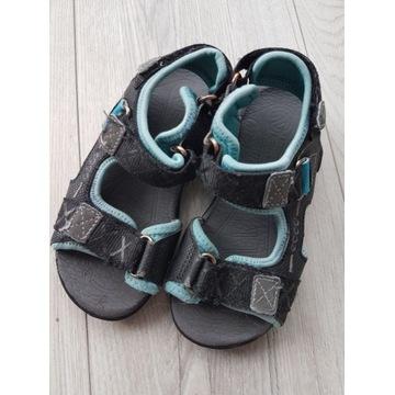 SANDAŁY Buty Dziecięce Czarne ECCO 17,2 cm r. 28