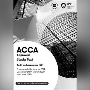 ACCA AA Audit and Assurance Study Text