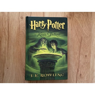 Harry Potter i Książe Półkrwi Twarda Oprawa