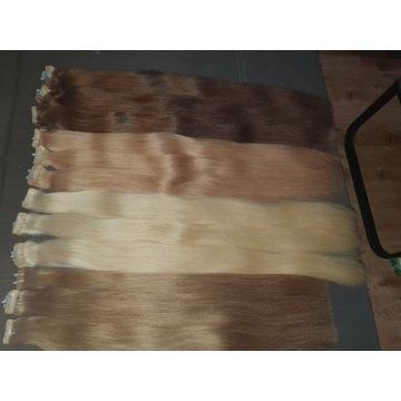 Włosy 50gr naturalne Rosyjskie premium 70 cm !