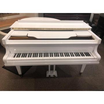 Biały fortepian gabinetowy , pilnie Warszawa