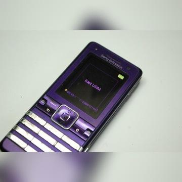 Sony Ericsson K770i + bateria + karta pamięci