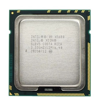 Intel xeon X5680 6x3,33GHz (3,6GHz turbo)
