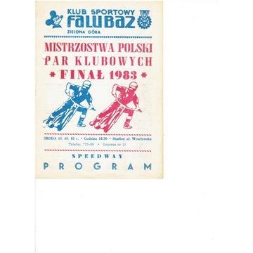 FINAŁ MPPK 1983 r  Zielona Gora