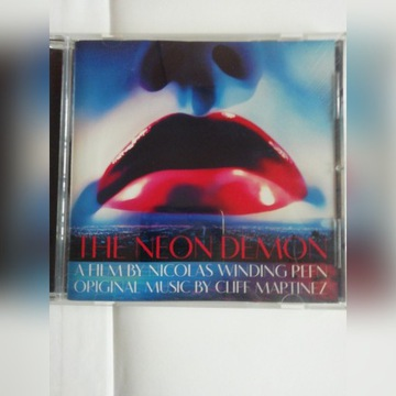 Cliff Martinez The Neon Demon OST CD