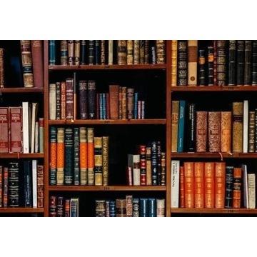 Książki sprzedam, około 3 tys.