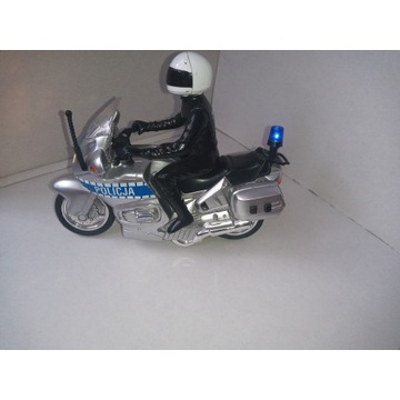 Honda policyjny motocykl zabawka