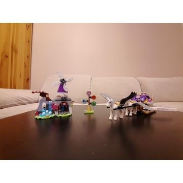 Klocki LEGO Elves Sanie pegaza Airy 41077 komplet!