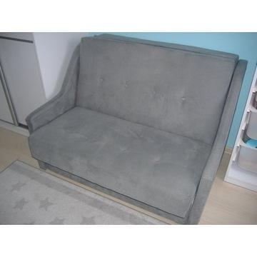 Łóżko sofa rozkładana 2-osobowa stan bardzo dobry