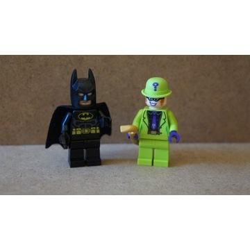 LEGO MINIFIGURKI Batman i Człowiek zagadka