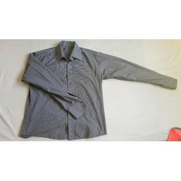 Koszula elegancka Selected Rozmiar XL Granatowa