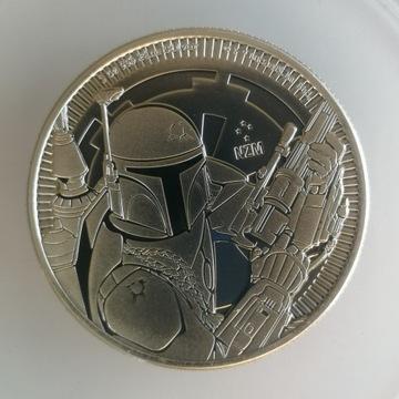 1 oz 2020 Star Wars Boba Fett srebrna moneta