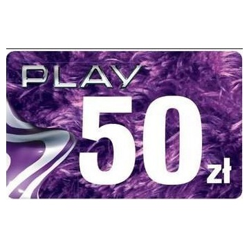 Doładowanie play 50