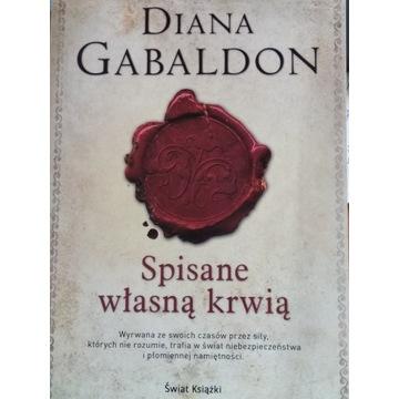 Spisane własną krwią Diana Gabaldon