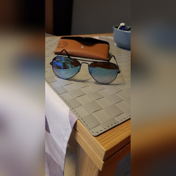 Oryginalne Okulary męskie Ray Ban RB 3025