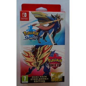 Pokemon Sword + Shield Dual Pack Steelbook Edition