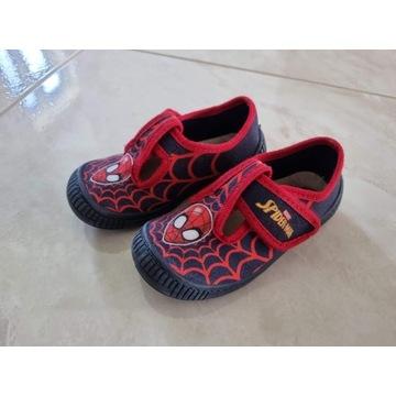 Buty dziecięce Spiderman na rzep 25 wkładka 15,5cm