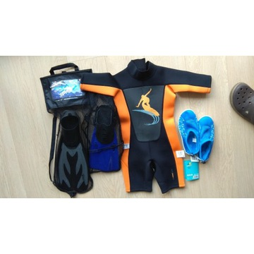 zestaw do sportów wodnych dla dzieci