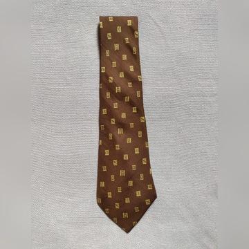 Luksusowy krawat jedwabny Hermes