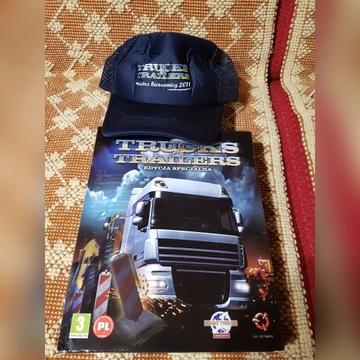 Czapka  + pudełko Truck&Trailers