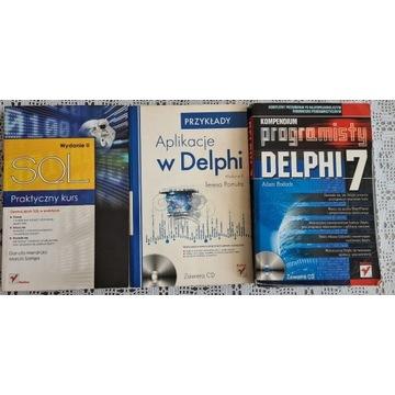 SQL, Delphi - 3 książki