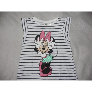 koszulka piżama H&M r.122/128 Disney