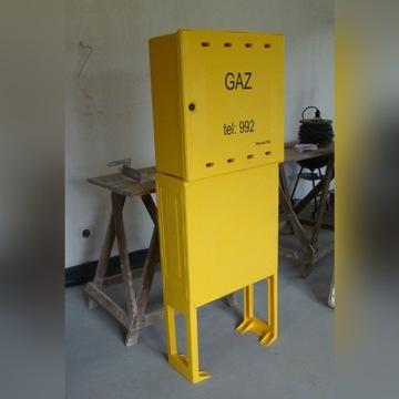 Szafka gazowa SX600 z podstawą PTX600