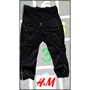 H&M MAMA spodnie ciążowe L 40
