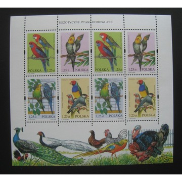 3967 -3970** blok 152 Ptaki czysty