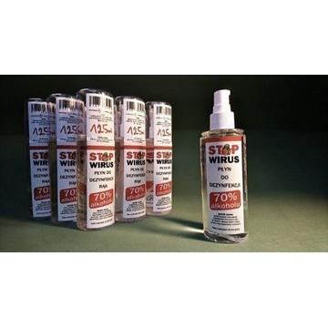 Płyn do dezynfekcji rąk 125 ml 70%