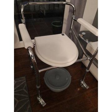 Wózki, krzesła toaletowe Wyposażenie łazienki Allegro