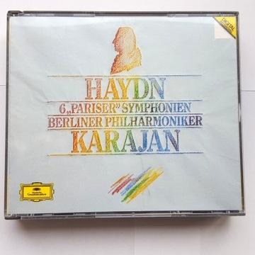 Haydn 6 Pariser Symphonien  3 CD Karajan