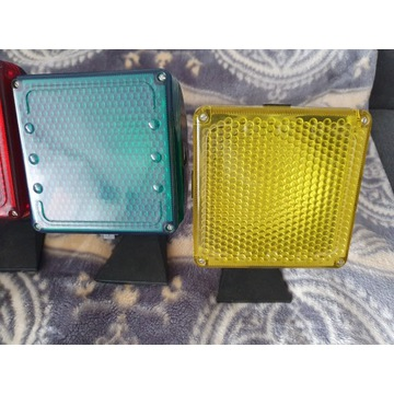 4 lampy z prl disco