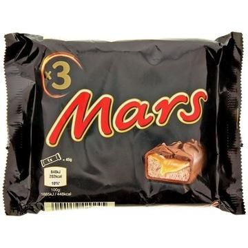 Mars 3 x 45 gramów