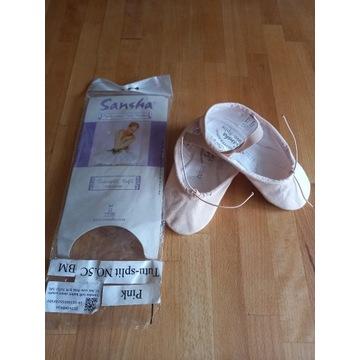 baletki dziecięce Sansha TUTU-SPLIT 5C rozmiar 25