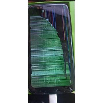 Motorola G7 play z uszkodzonym wyświetlaczem