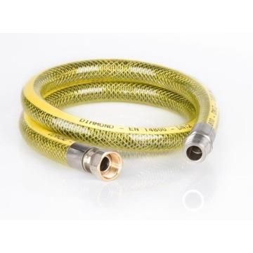 DIAMOND Elastyczny wąż do gazu WZ 1/2'' 1500 mm