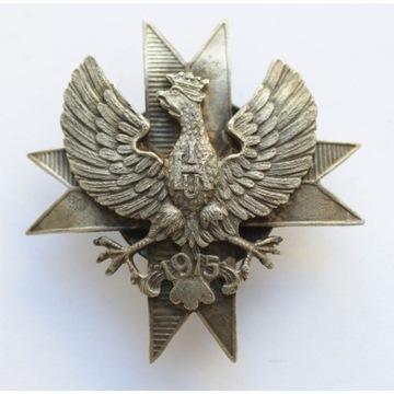 Odznaka 1 pułku ułanów krechowieckich
