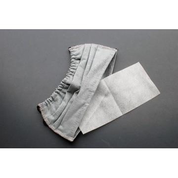 Maseczka bawełnina wieloktotnego użytku z filtrem.