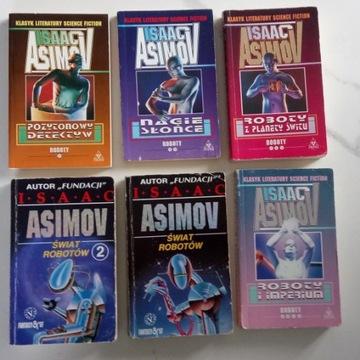 Asimov - roboty, nagie słońce, imperium, planety